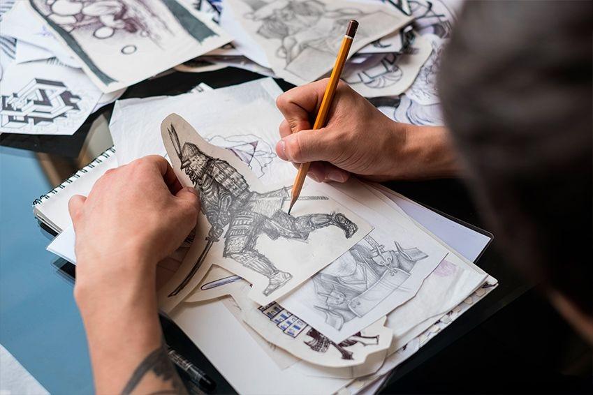 Curso experto técnico  en  dibujo y diseño tatuaje